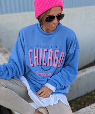 Oversizesweater CHICAGO – versch. Farben