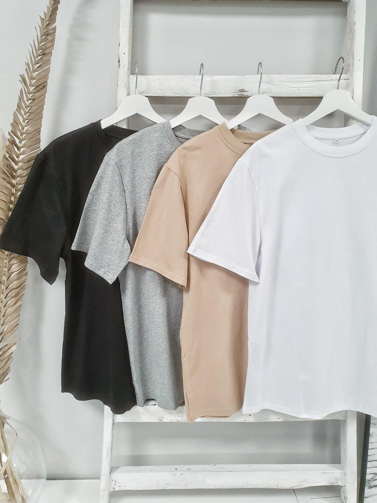 Basic-Shirt OVERSIZE – versch. Farben