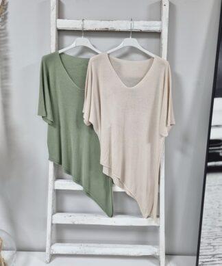 Feinstrick Shirt ASYMMETRIC
