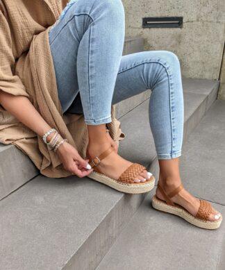 Sandale GIRONA-camel
