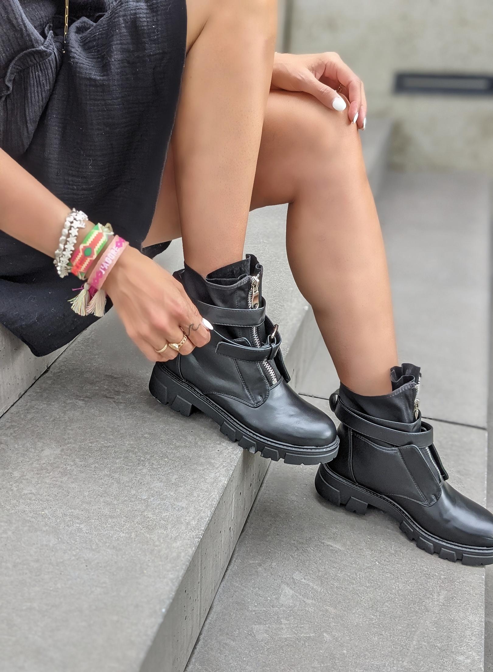 Stiefelette OSLO-schwarz