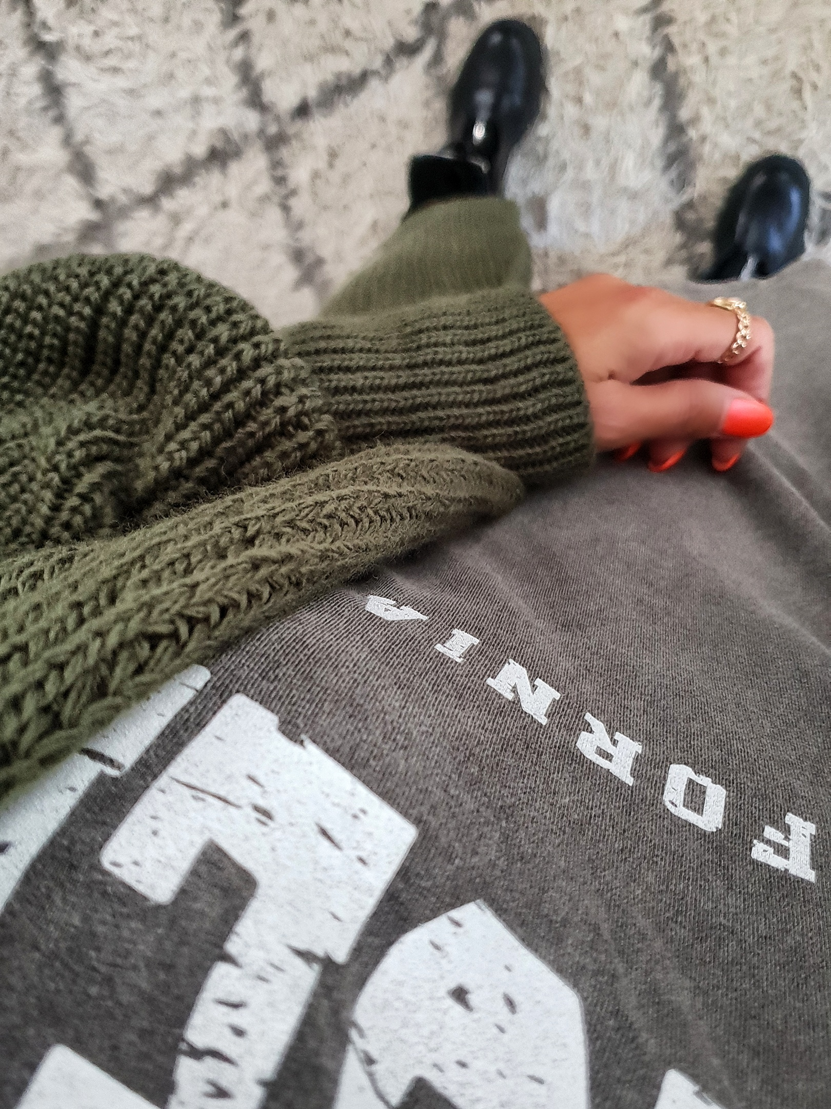 Longshirt LOS ANGELES – California – versch. Farben