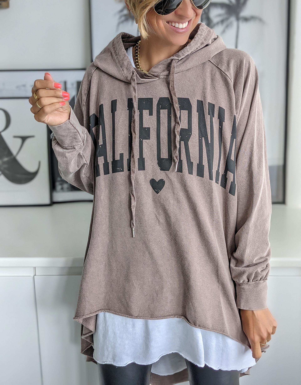 Oversizehoodie CALIFORNIA – versch. Farben