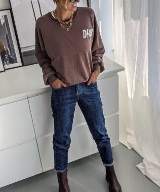 Mom Jeans DEEP BLUE