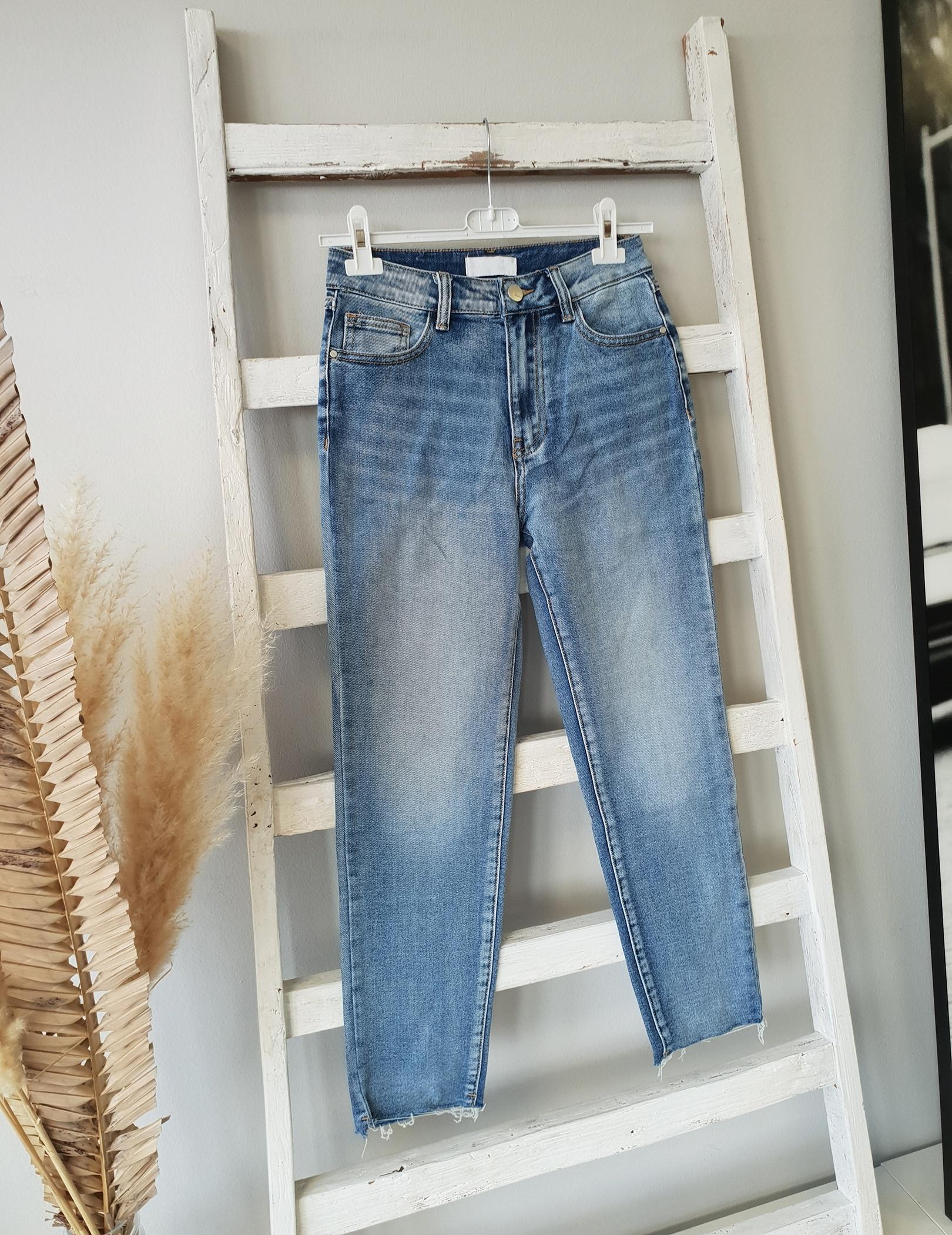 SLIM-Mom Jeans BELLA mit Stretch- BLUE