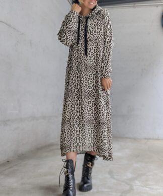 Long Hoodie DRESS LEO