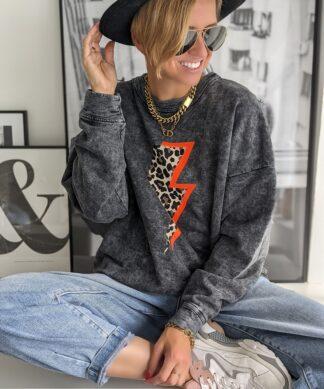 Sweater LEO FLASH – ORANGE