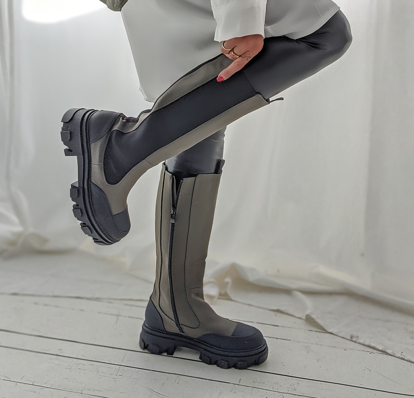 High-Boots Moskau