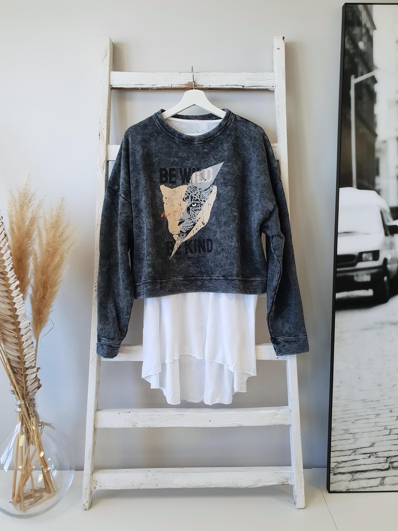 Sweater ACIDWASH WILD KIND