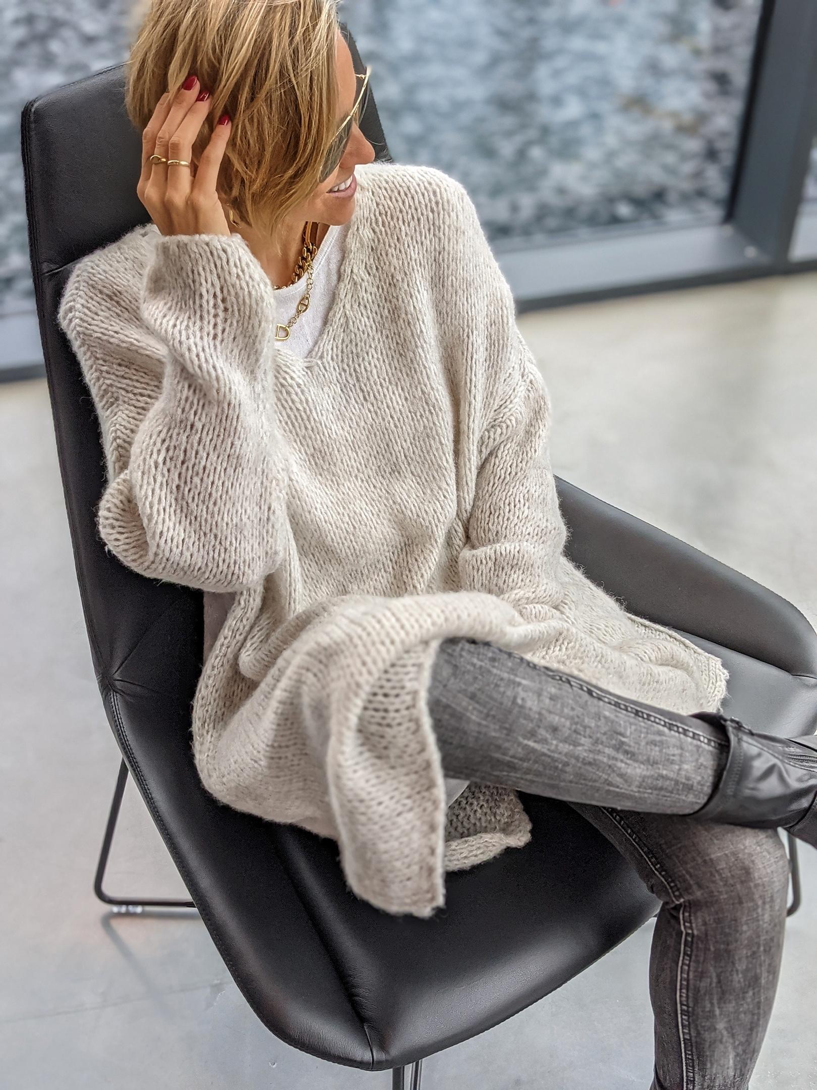 Strickpullover Lovely Knit LONG