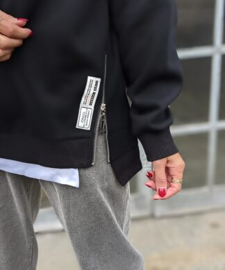 Sweater ZIP IT schwarz