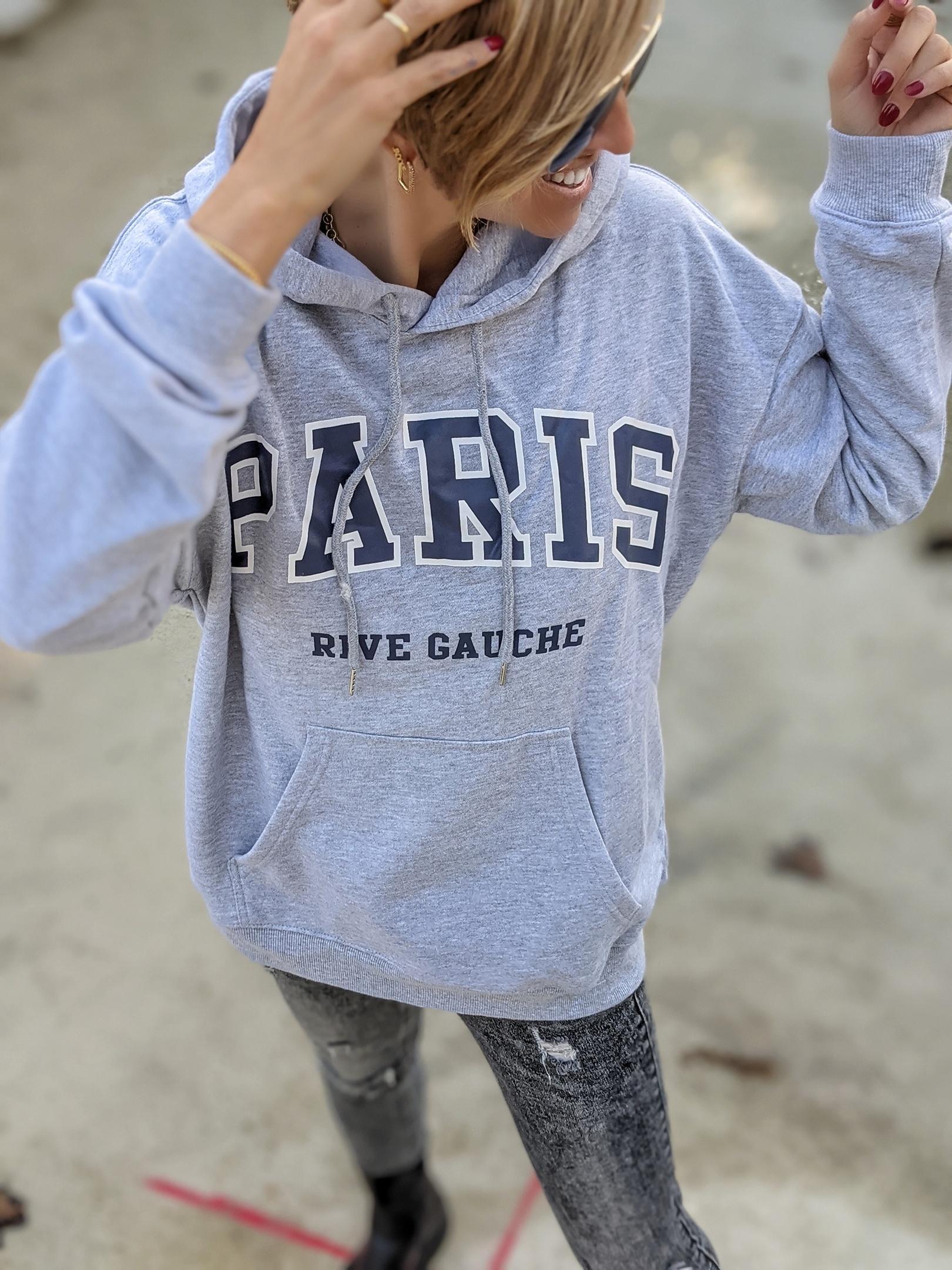 Hoodie PARIS RIVE GAUCHE