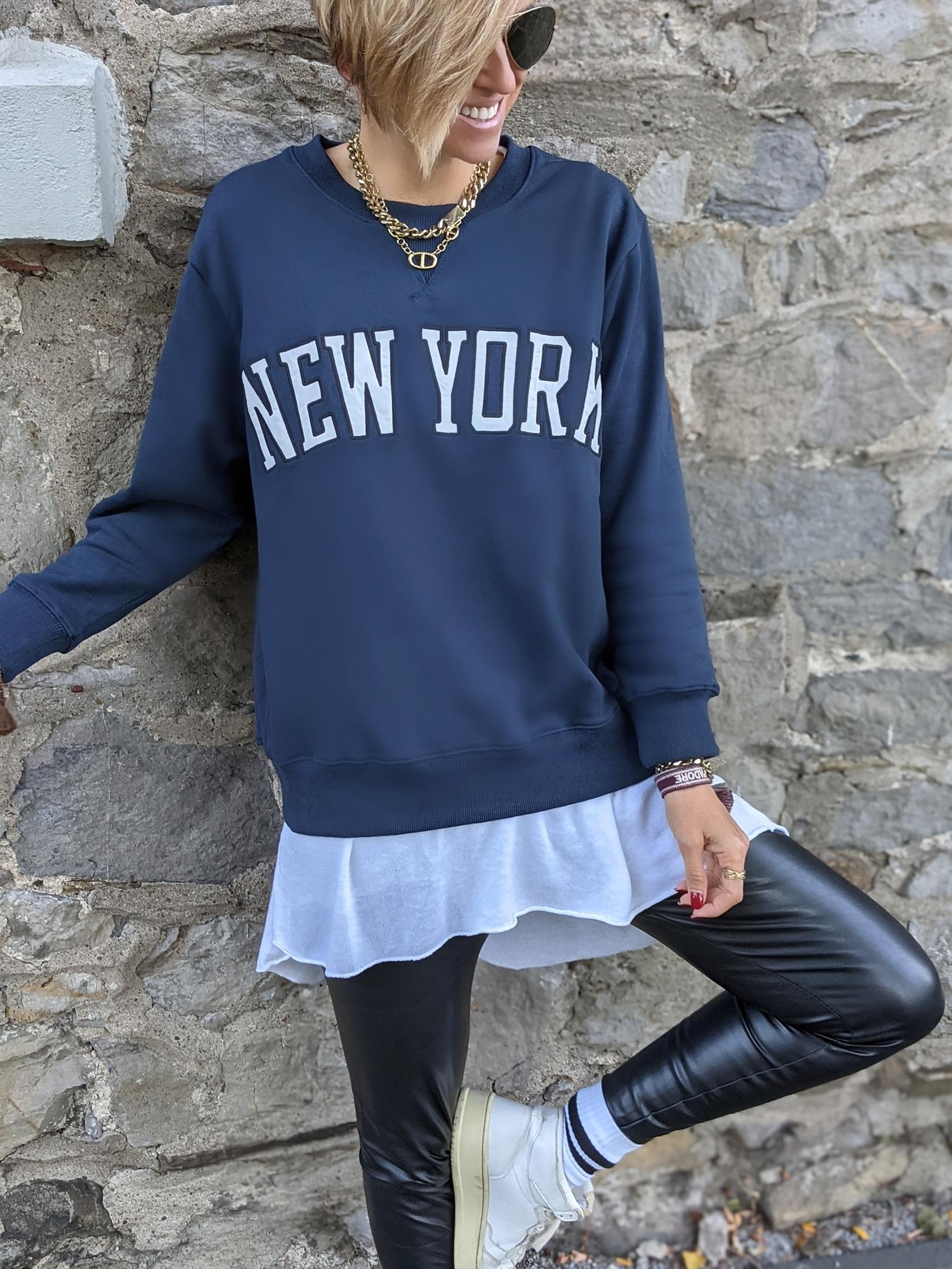 Sweater NEW YORK UNITED – versch. Farben