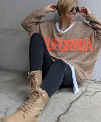 Strickpullover California – Neon