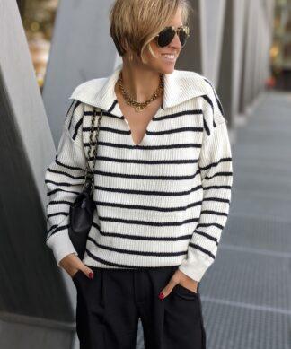 Pullover mit Kragen SAIL AWAY WITH ME